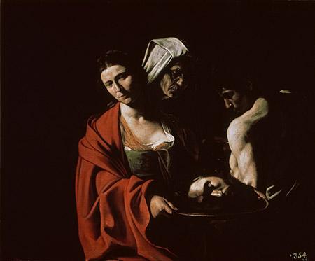Caravaggio - 'Salomè con la testa di Battista'