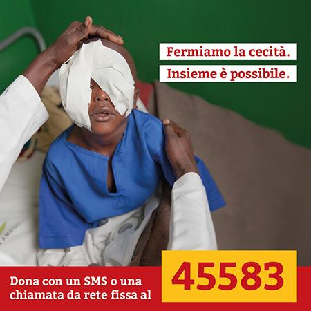 CBM 'Fermiamo la cecità. Insieme è possibile'
