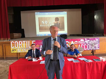 Corecom a Torre Annunziata (NA) Vincenzo Ascione, Domenico Falco e Don Luca De Muro