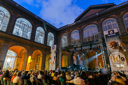 Cortile d'Onore Palazzo Reale NTFI 2019