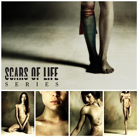 Daniele Deriu - 'Scars of life series'