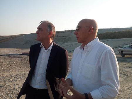 Enrico Rossi e Renzo Macelloni