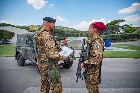 Esercito Italiano alla Mostra d'Oltremare Napoli