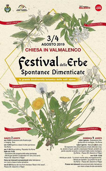 Festival delle erbe spontanee dimenticate in Valmalenco