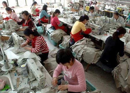 Lavoratrici cinesi