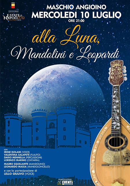 'Alla Luna, Mandolini e Leopardi'