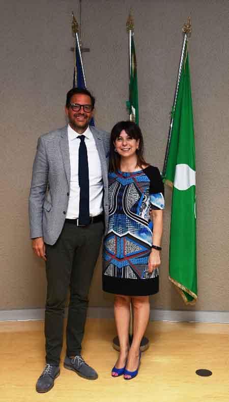 Marco Alparone e Claudia Carzeri