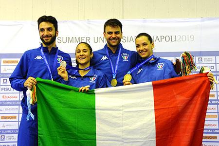 Medaglie azzurre 6 luglio scherma Universiade