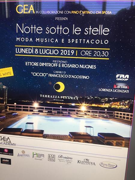 Notte Sotto Le Stelle Alla Terrazza Flegrea Ex Partibus