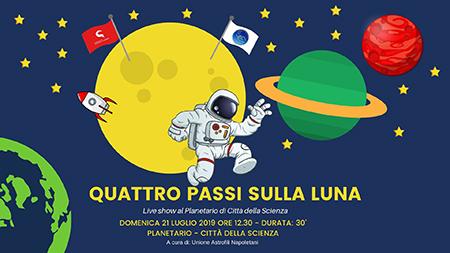 'Quattro passi sulla Luna'