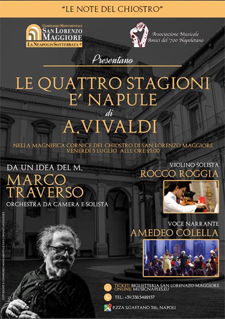 'Le quattro Stagioni 'e Napule di A. Vivaldi'