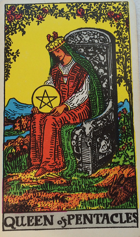 Queen of Pentacles - Donna di Denari