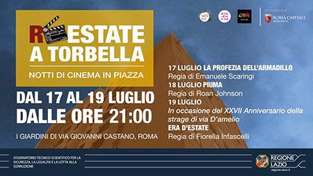 'R-Estate a Tor Bella - Notti di cinema in Piazza'