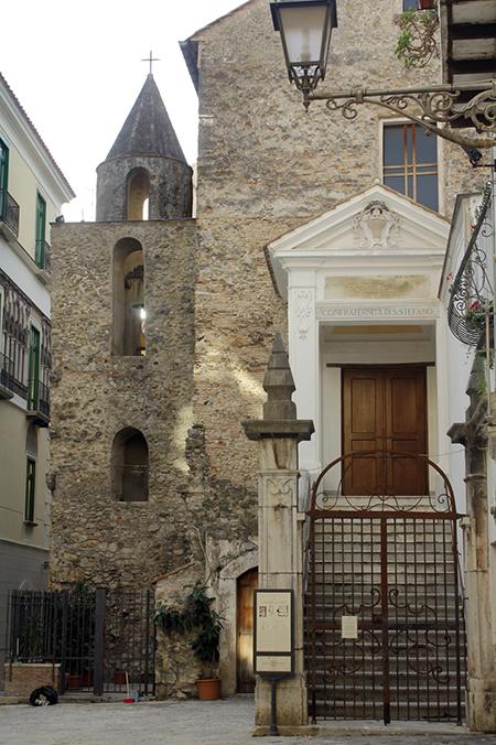 San Pietro a Corte Salerno - ph Soprintendenza ABAP
