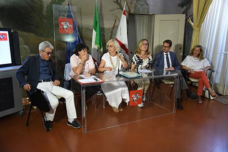 Stefania Saccardi, Monica Barni, Federica Fratoni, Cristina Grieco