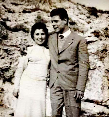Titina Castaldo e Vincenzo Masullo