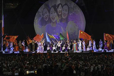 Cerimonia di chiusura Universiade Napoli 2019