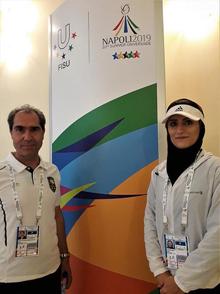 Universiade delegazione iraniana