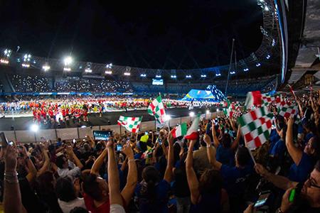 Universiade San Paolo Napoli