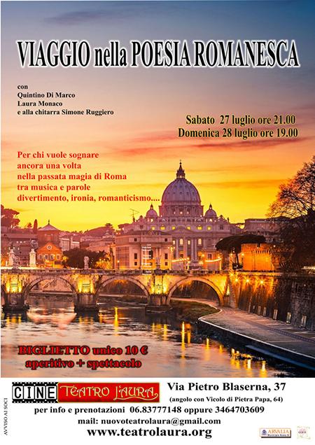 'Viaggio nella poesia romanesca'