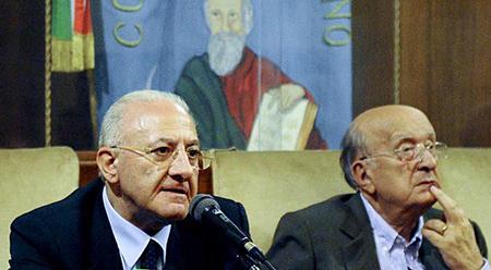 Vincenzo De Luca e Ciriaco De Mita