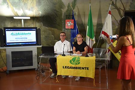 Angelo Gentili e Federica Fratoni FestAmbiente