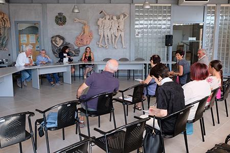 Conferenza di chiusura del 53° Festival teatrale di Borgio Verezzi (SV) - ph- Luigi Cerati