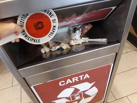 Controlli smaltimento rifiuti