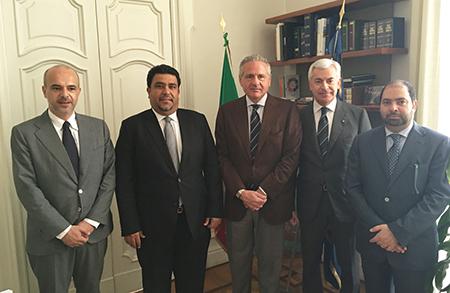 Corbello, Al Gergawi, Tuccillo, Carandente e Ahli