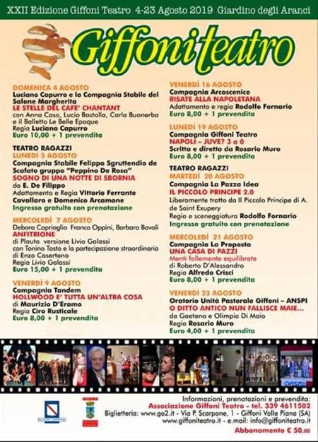 Giffoni Teatro 2019