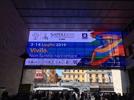 Grandi Stazioni d'Italia celebrano successo Universiade Napoli 2019