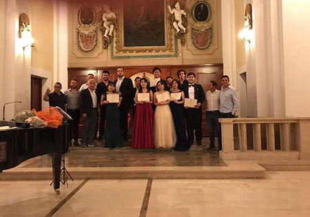 Masterclass di canto lirico a Torrice (FR)