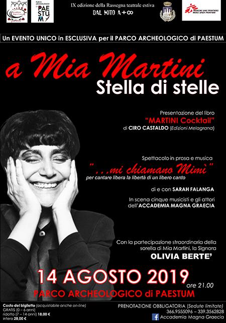 'A Mia Martini... Stella di stelle'