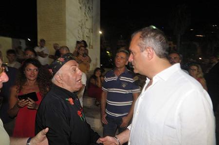 Peppe Barra e Luigi de Magistris