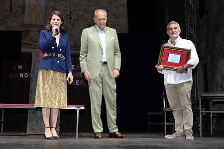 Premio Camera Commercio delle Riviere della Liguria a Giancarlo Fares - PH Luigi Cerati