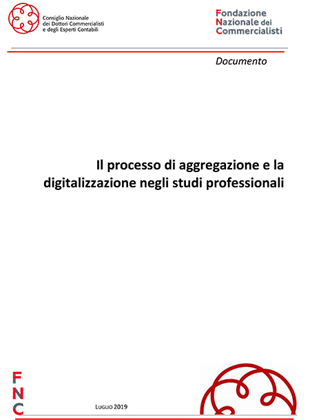 'Il processo di aggregazione e la digitalizzazione negli studi professionali'