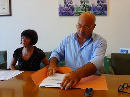 Rosanna Romano e Michele Fiella