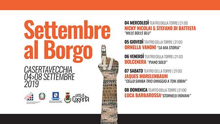 Settembre al Borgo 2019