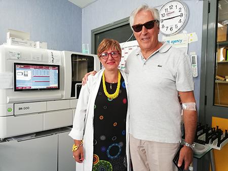 Sonia Raimondi e Carmine Mariano