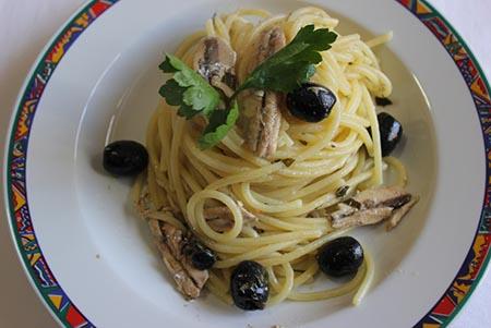 Spaghetti alla ciammurra