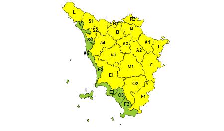 Toscana allerta meteo 24 agosto 2019