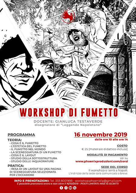 Workshop di fumetto