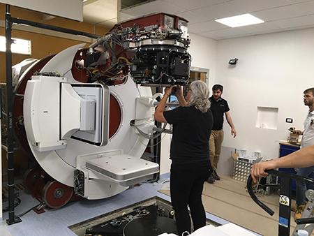 Acceleratore Versa HD Elekta al Centro Morrone di Caserta