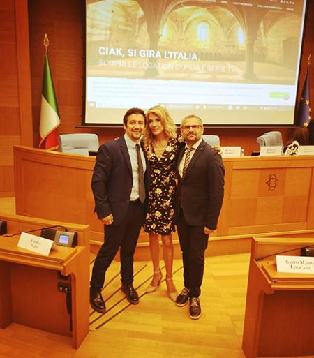 Alessandro Derviso, Gabriella Carlucci e Antonio Masullo