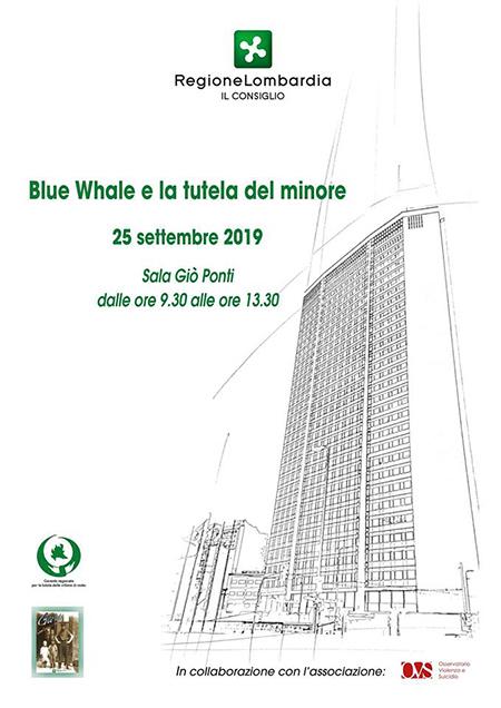 'Blue Whale e la tutela del minore'