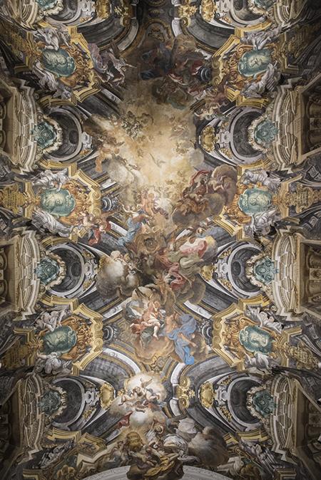 Cappella Sansevero - Volta, Gloria del Paradiso_ Ph. Marco Ghidelli