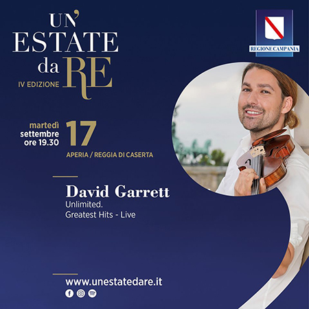 David Garrett a Un'estate da Re