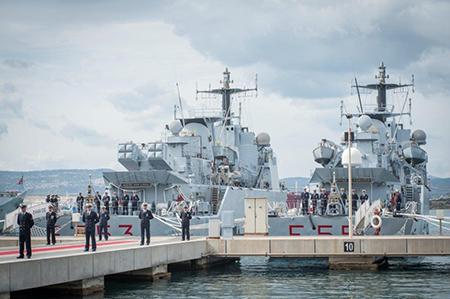 Driade e Chimera ph. Marina Militare