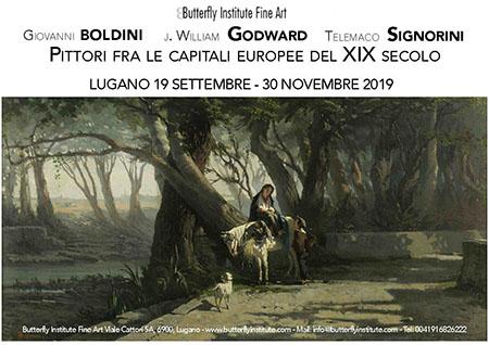 'Giovanni Boldini, John William Godward, Telemaco Signorini, pittori fra le capitali europee nel XIX secolo'
