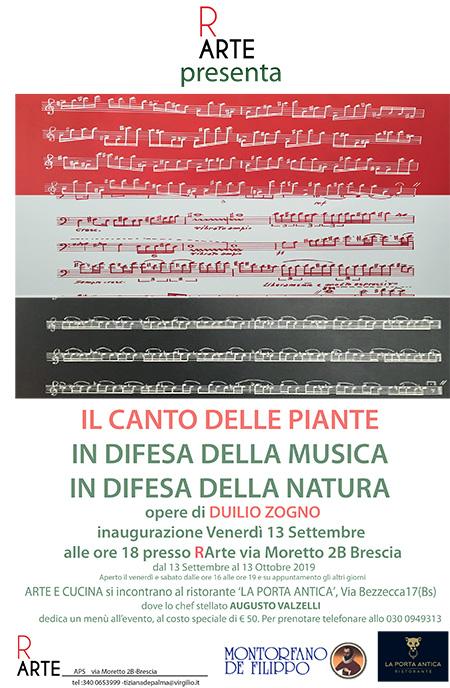 'Il canto delle piante. In difesa della musica - In difesa della natura'